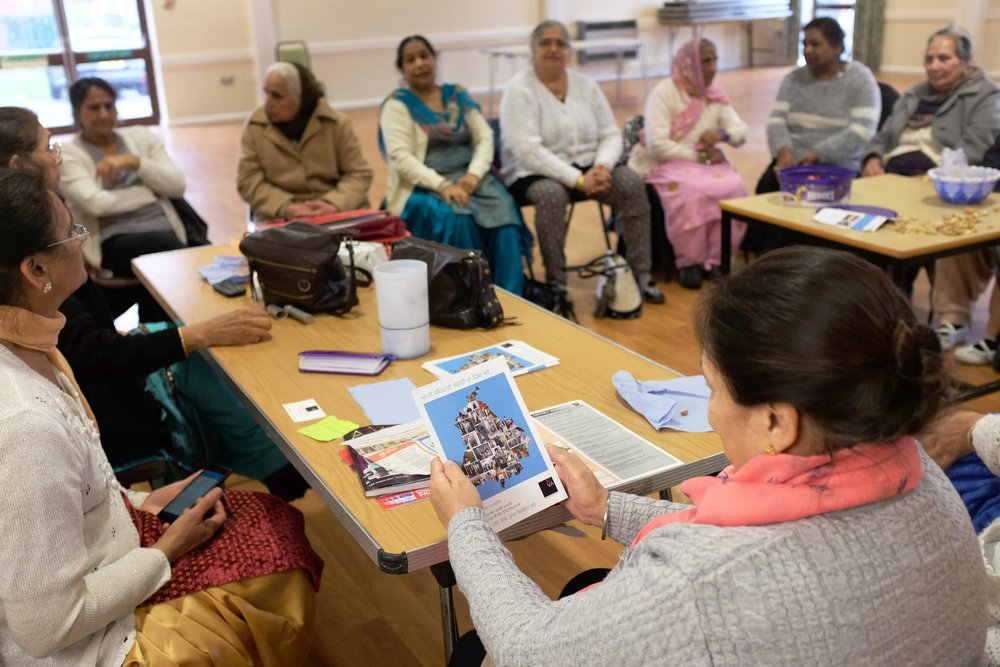 Talking heritage and memories with the Humjoli Ladies Group