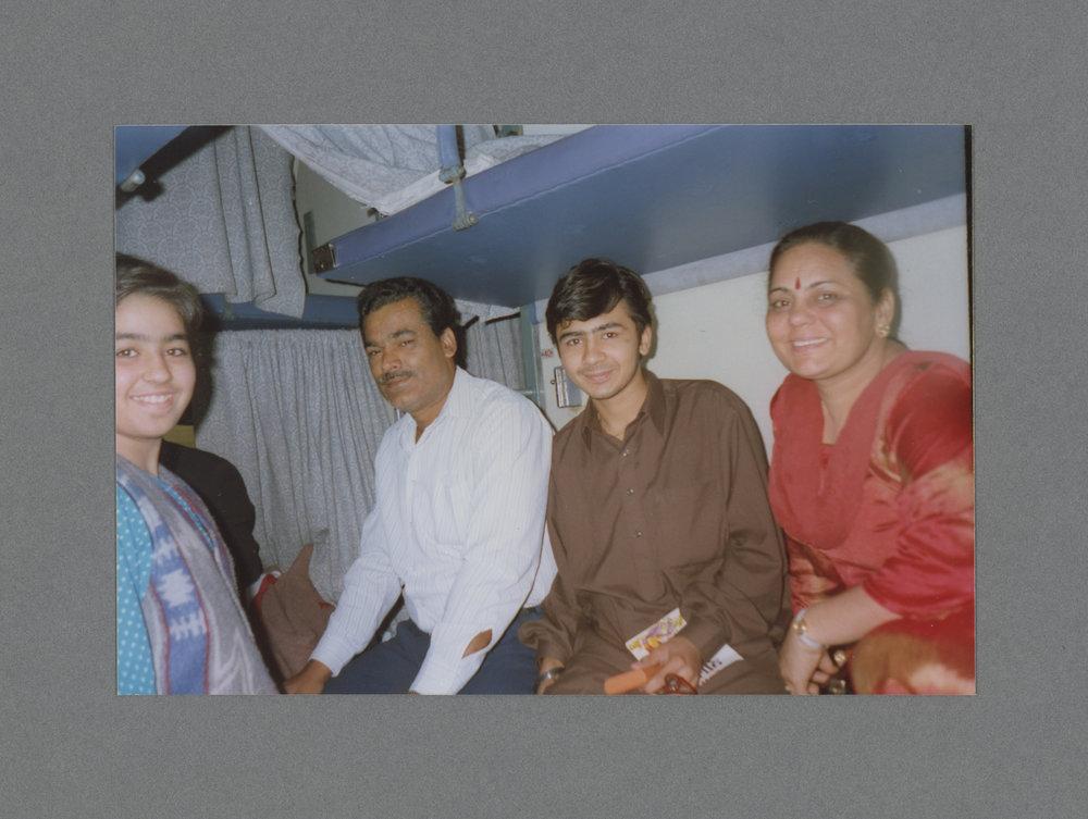 Sleeper Train, India c.1984