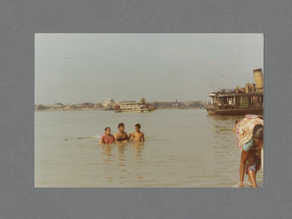 Ganga River, Calcutta, India c.1974