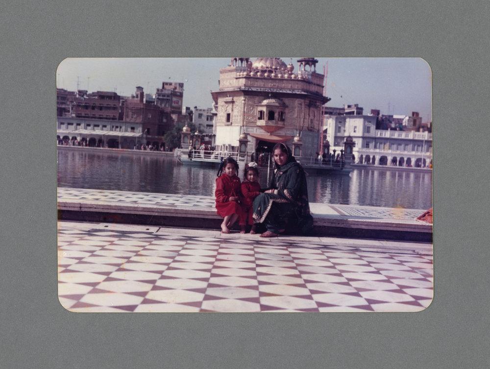 Golden Temple, Punjab, India c.1982