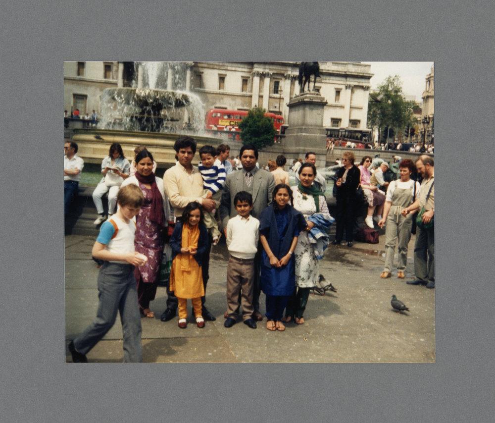 Trafalgar Square, London c.1985