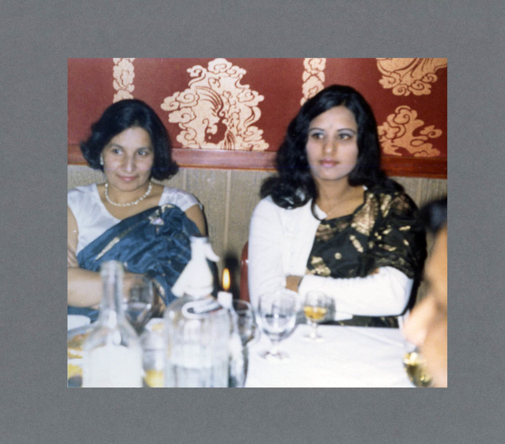 Indian restaurant, W-ton c.1980