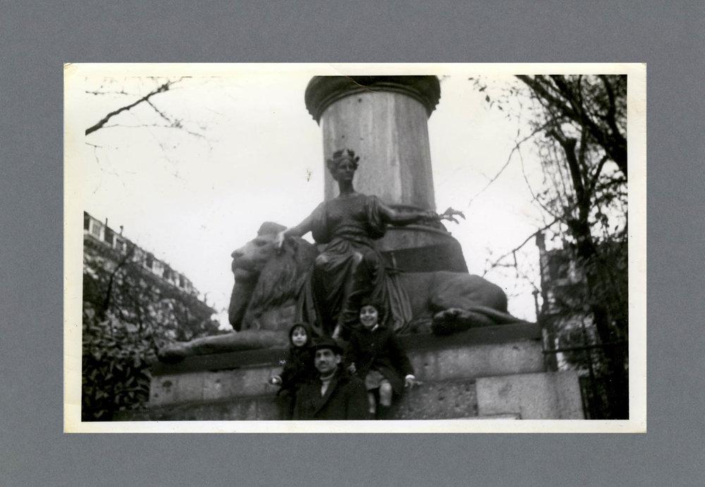 Trafalgar Square, London c.1971