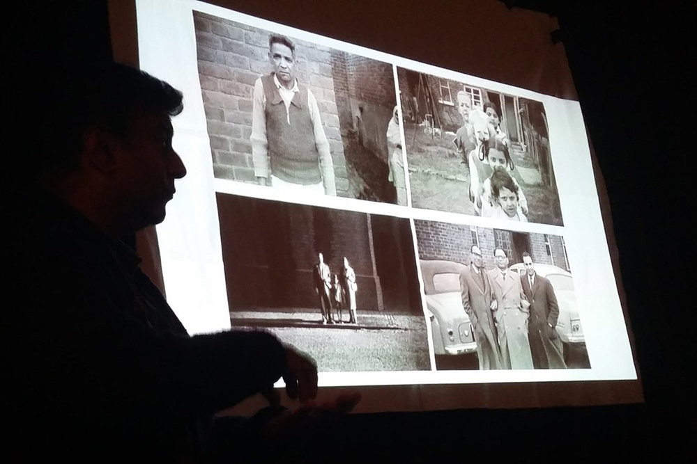 Anand Chhabra  presents the Apna Heritage Archive collection at PhotoCafe, Birmingham September 2017.