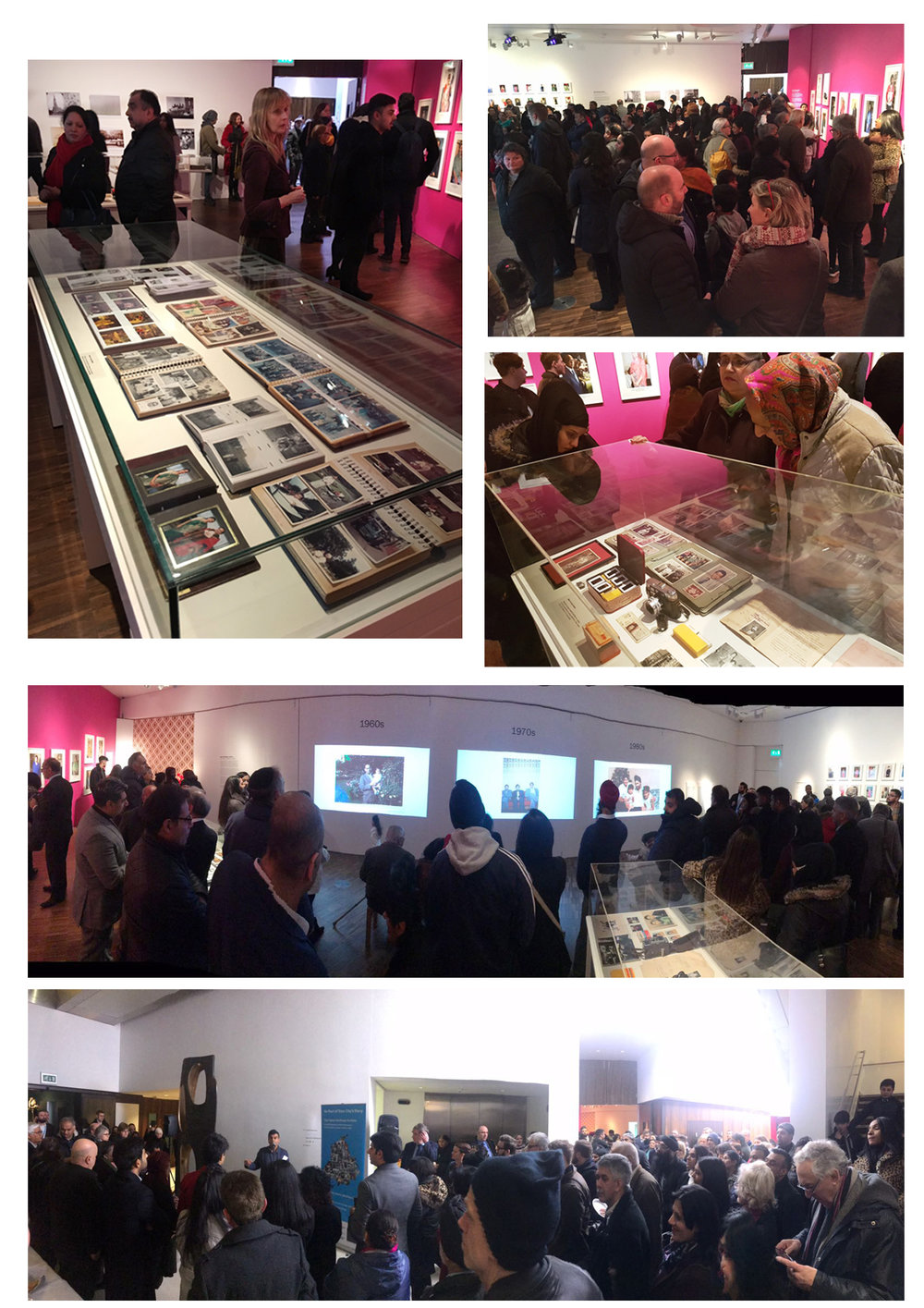 Launch Event at Wolverhampton Art Gallery was packed out as community came to celebrate