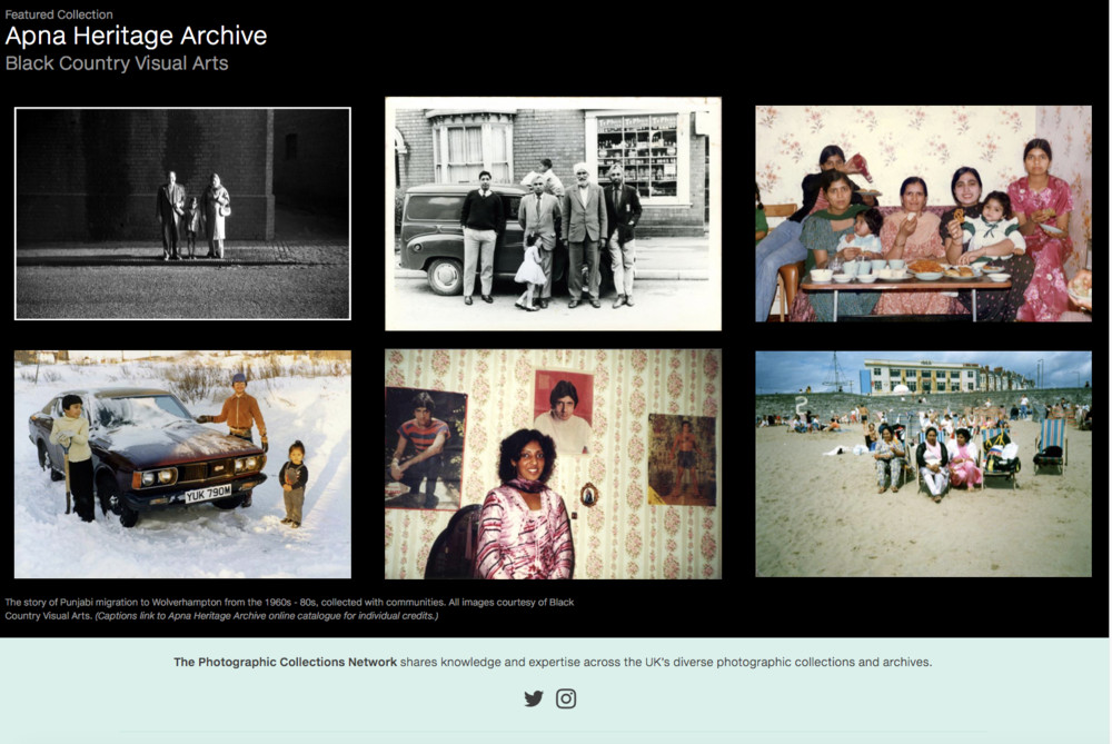 Featured on the Home Page of the Photo Collections Network for May/June 2018