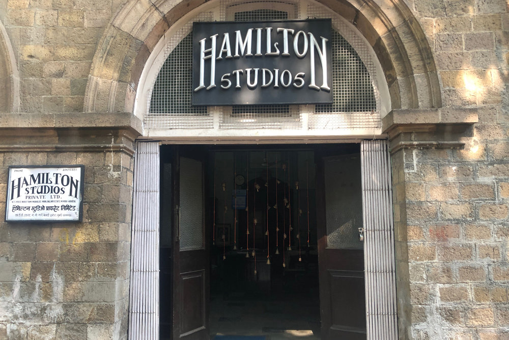 Mumbai -  Hamilton Studios in Bombay one of the oldest and well established photographic studios in Mumbai founded in 1928 by Sir Victor Sassoon, Anand due to a very tight schedule in India just decided to turn up and fortunately it was open!
