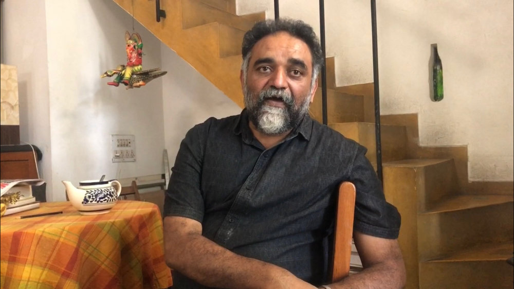 BANGALORE -  Suresh Jayram conducts an interview about 'the family album' for twitter. Fantastic to hear from a guy who knows the value of archiving and arts to an amazing high standard. Please check for @anand4560 on twitter for a