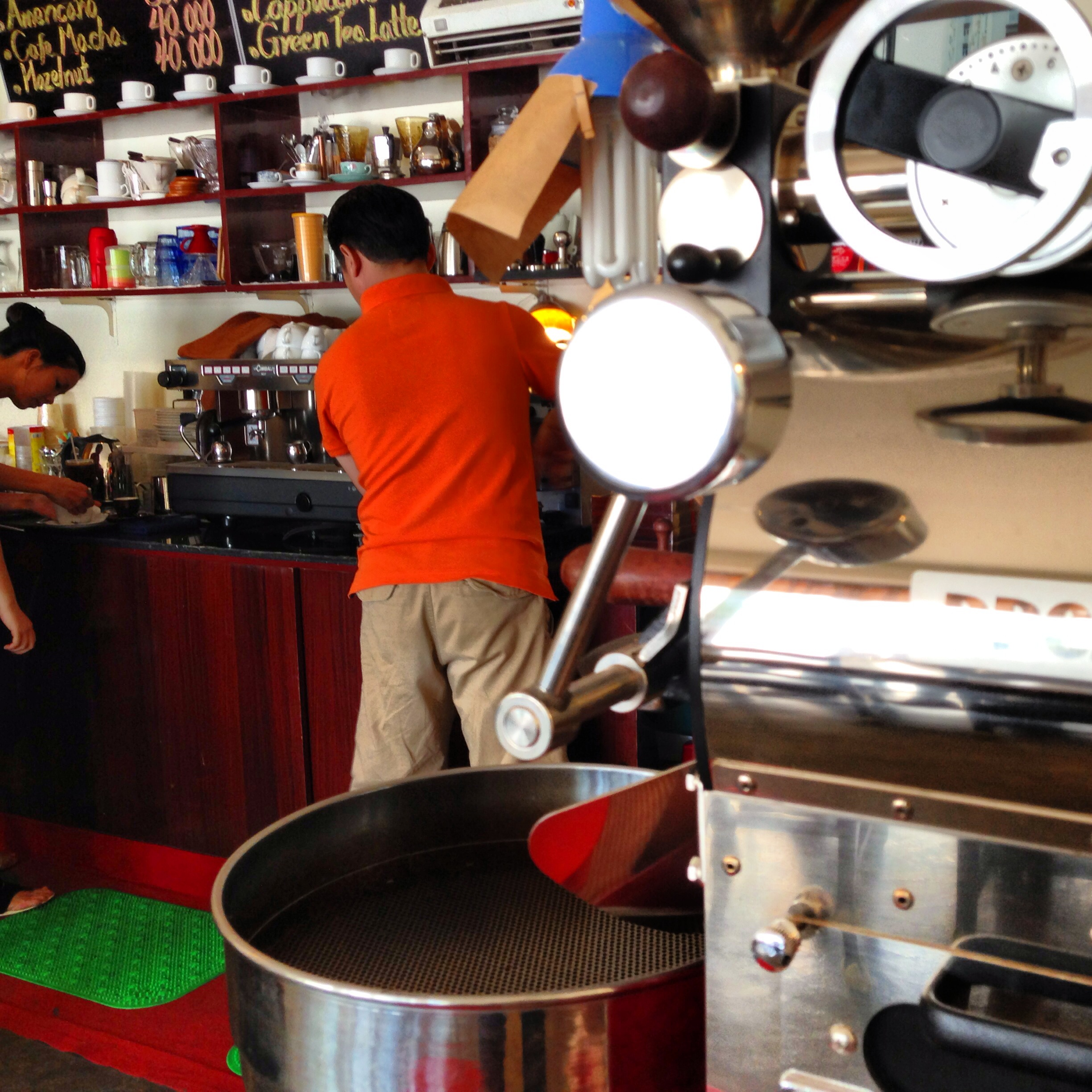 Zip Coffee, in District 7, owned and operated by Jo Young Jin, a Korean expat.