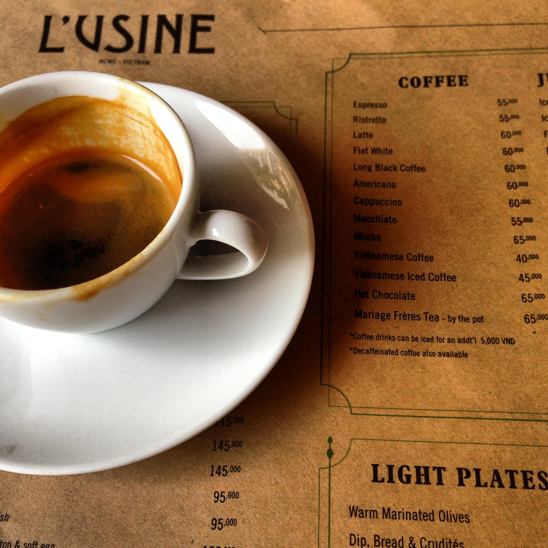 Finally, a good espresso!