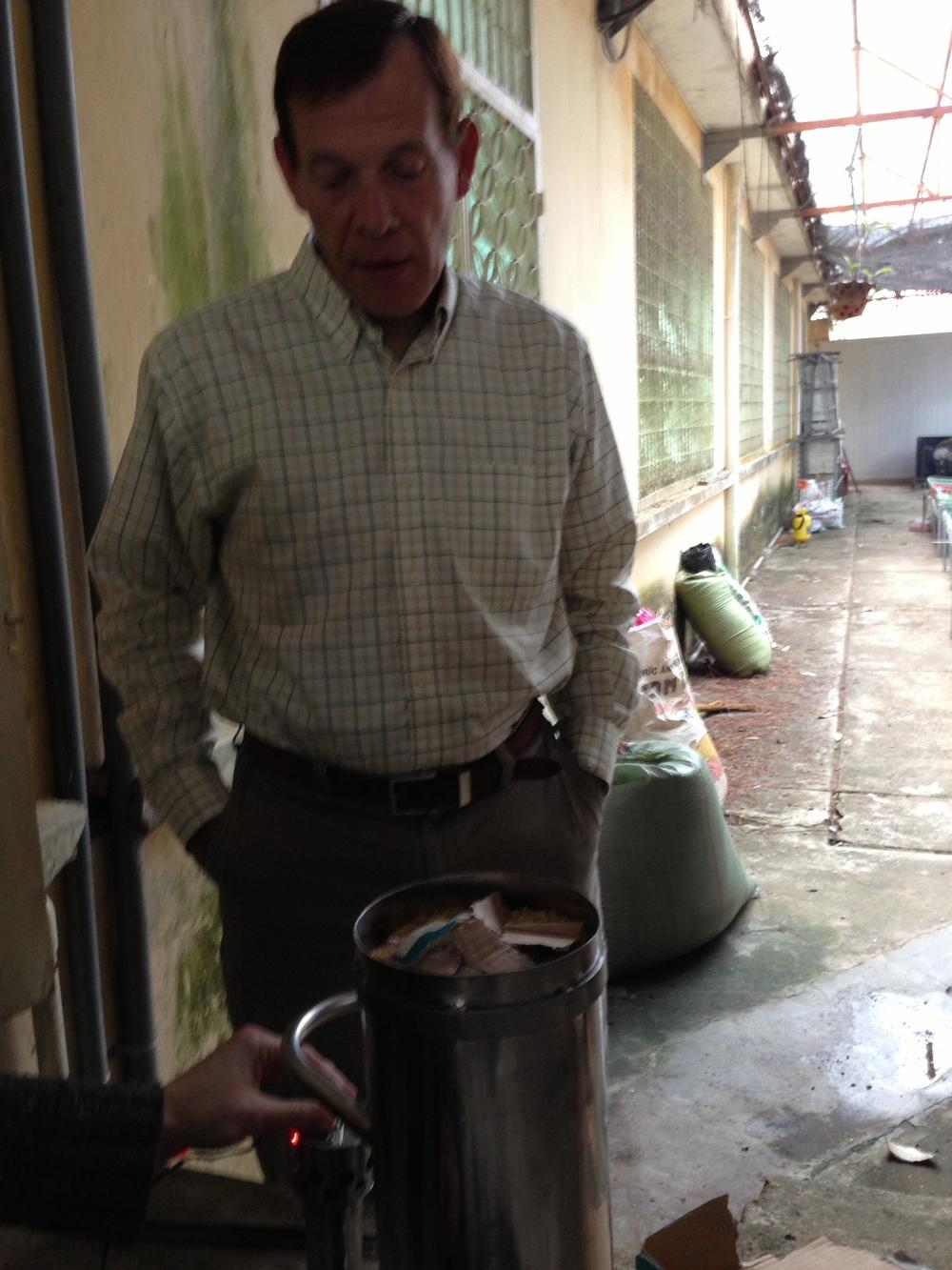 Dr Paul Olivier: inventor, problem solver, keener
