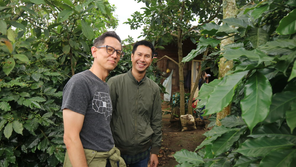 Quang and I chat about moving into the farmhouse and living off the land.