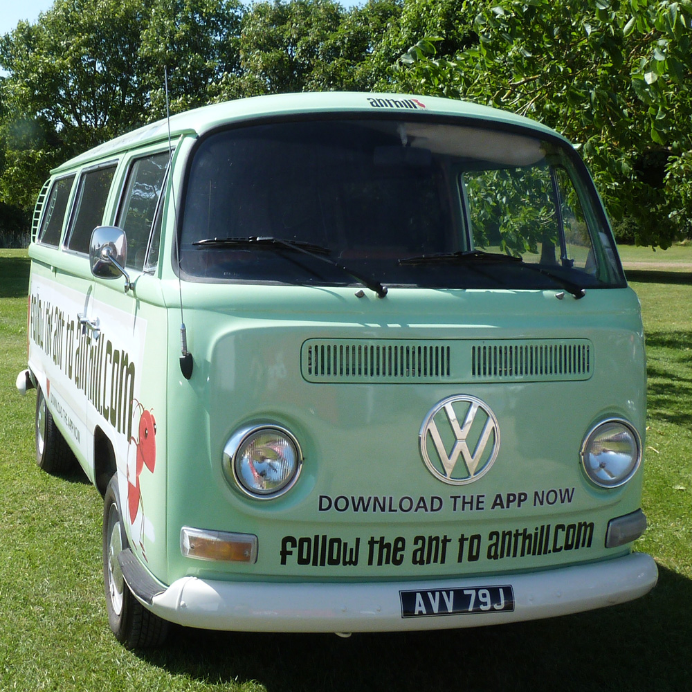 Camping Byron Bay Hinterland: Even VW Vans Are Better In PINK Pretty In Pink T Retro