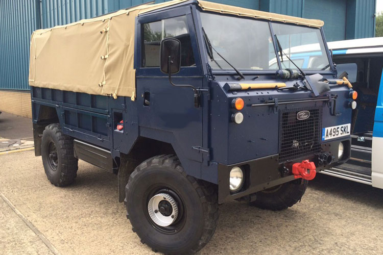 For Sale! A Fully refurbished and converted Land Rover ...