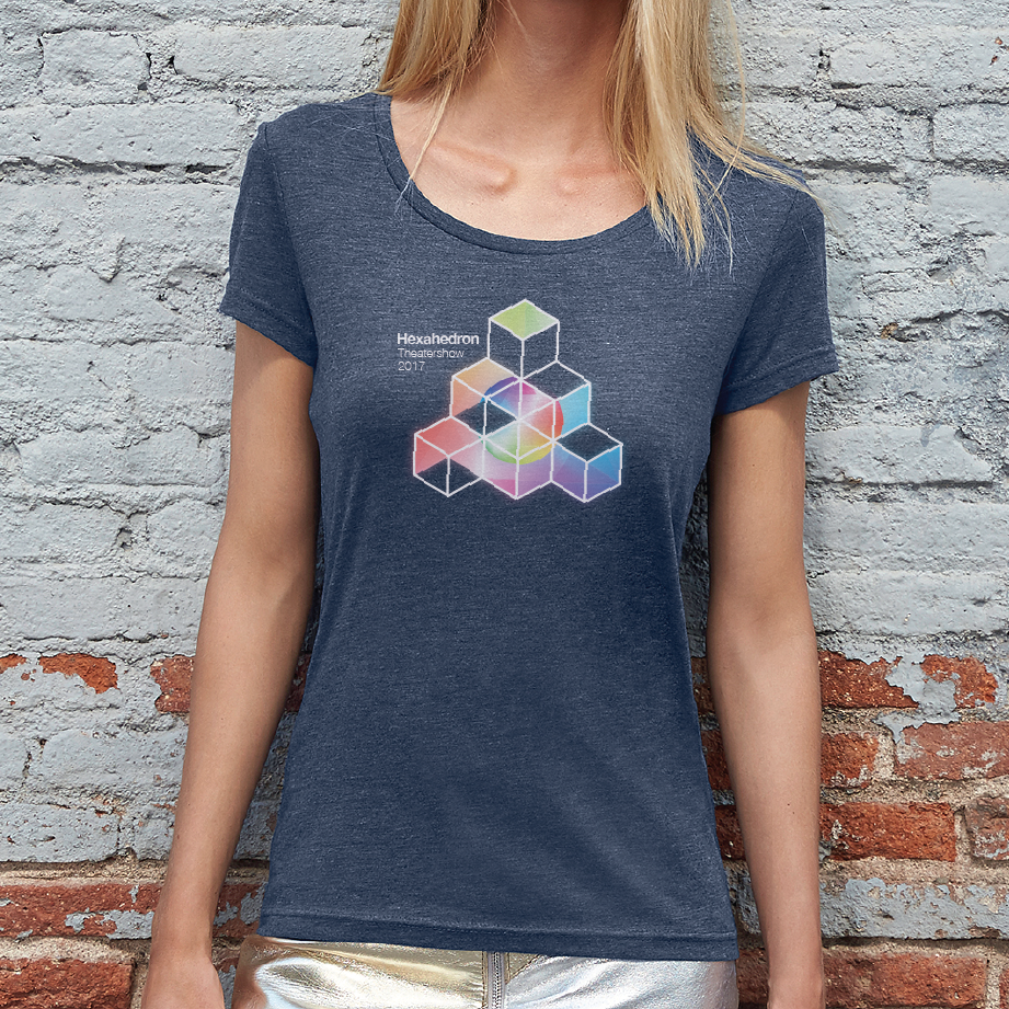 DrumSpirit Hexahedron Girls t-shirt € 15,00