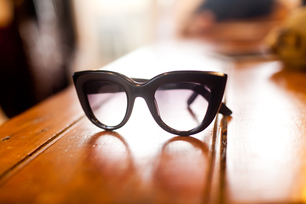 These are Kym's favorite glasses, she collaborated with her good friend Graz to make them come to life. Check them out here