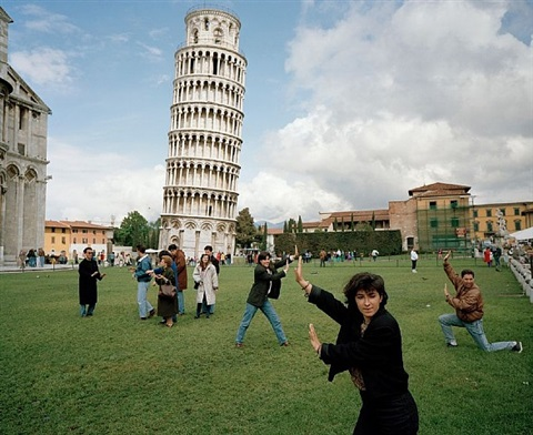 Martin Parr/ The Leaning Tower of Pisa