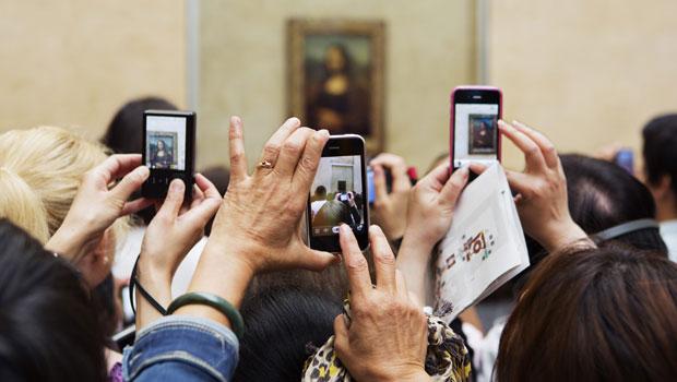 Martin Parr / Mona Lisa