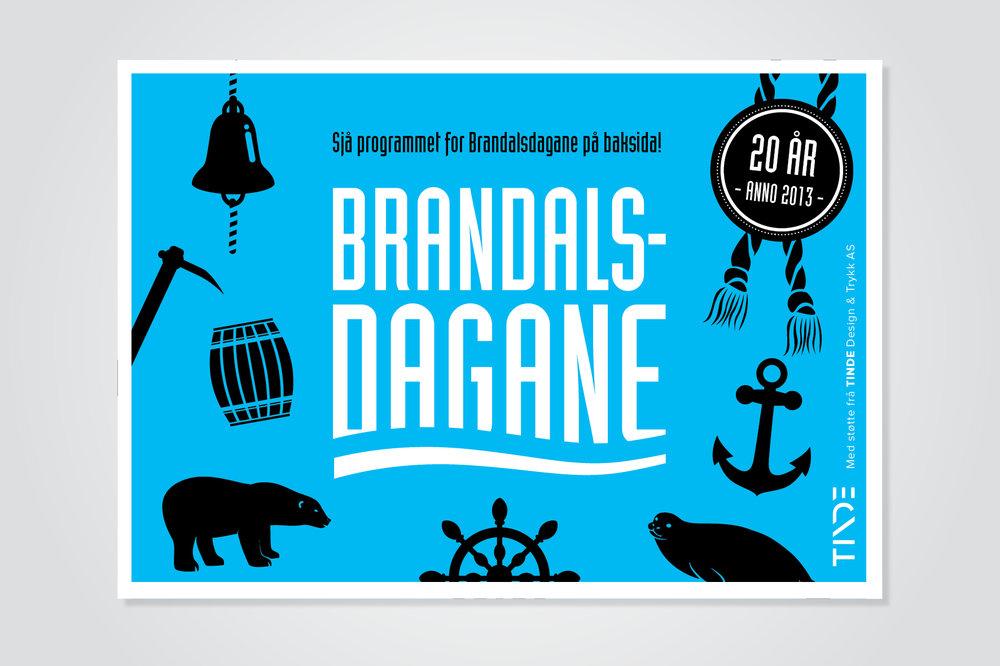 Brandalsdagane - Logo og visuell identitet for Brandalsdagane