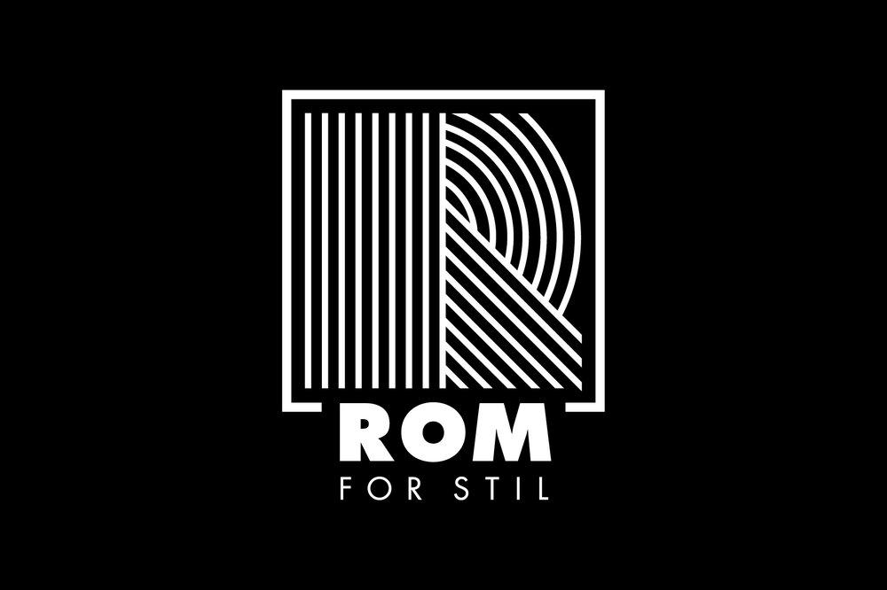 Rom For Stil - Logo for interiør- og nettbutikkenRom For Stil