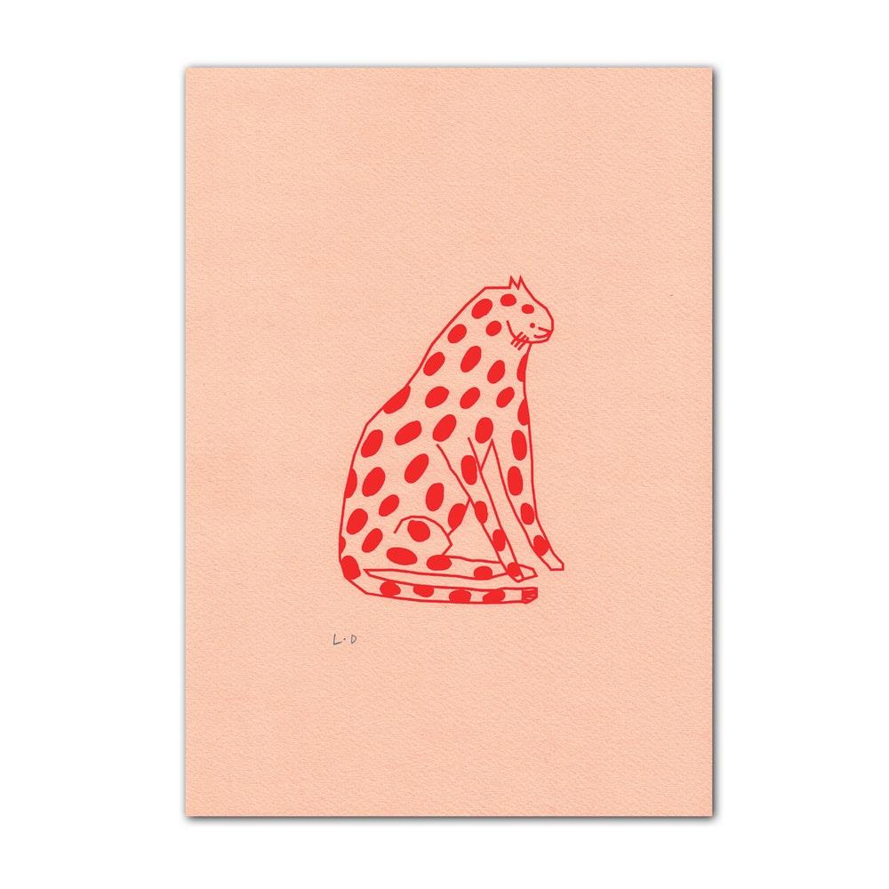 Spotty Cat Pink £15