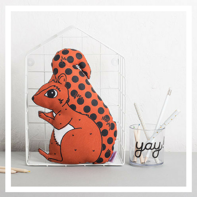 Squirrel Plush Cushion £15