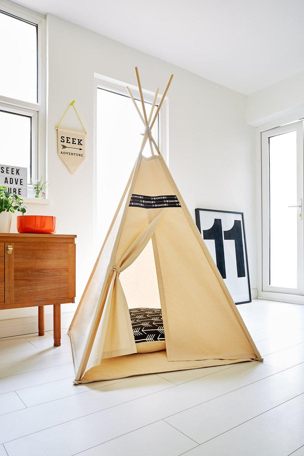 2.TeePee - by Little Me TeePee. This would be the perfect place for my 2 yr old to escape to (or even mummy!)