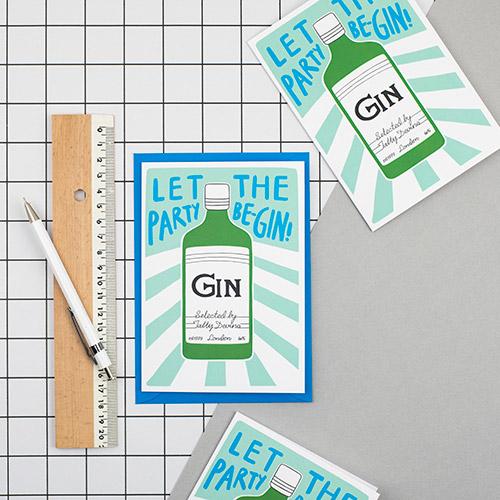 Gin Card