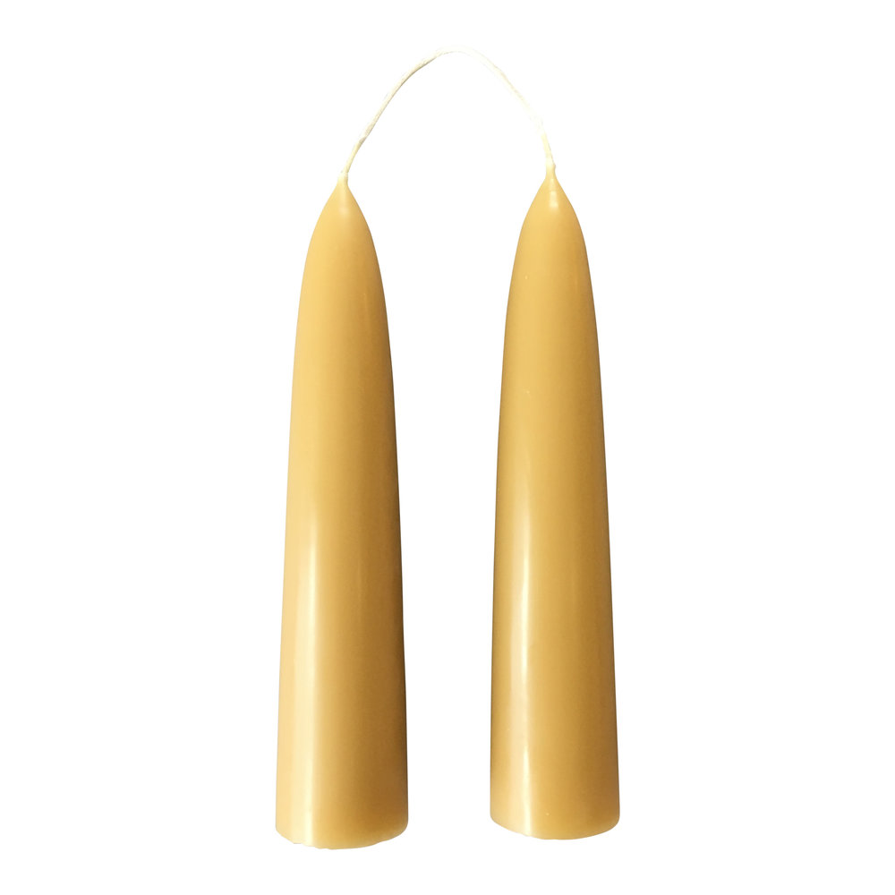 3. Beeswax Candles - by Moorland CandlesOh that honey smell, these hand dipped English beeswax candles are just the best smelling things ever!