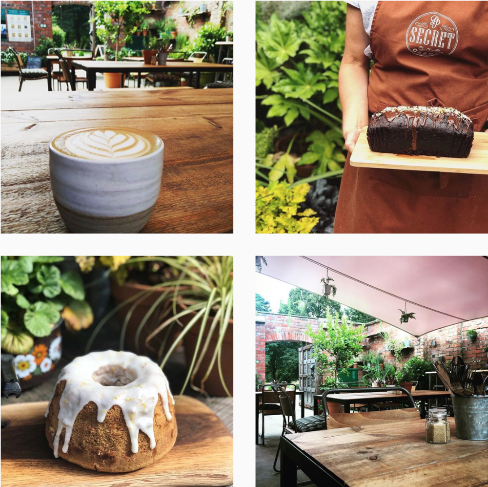 4. Secret Garden - Bute Park, CardiffGet outdoors, stretch your legs + end up in the tasty walled haven that is Secret Garden Cafe! Tucked away in Bute Park's Walled Gardens, this is truly a secret spot. Pick up a coffee to go or take the weight off your feet + have a delish lunch. All served on the best ceramics crockery you have seen! Pooches are welcome too which is always a winner!