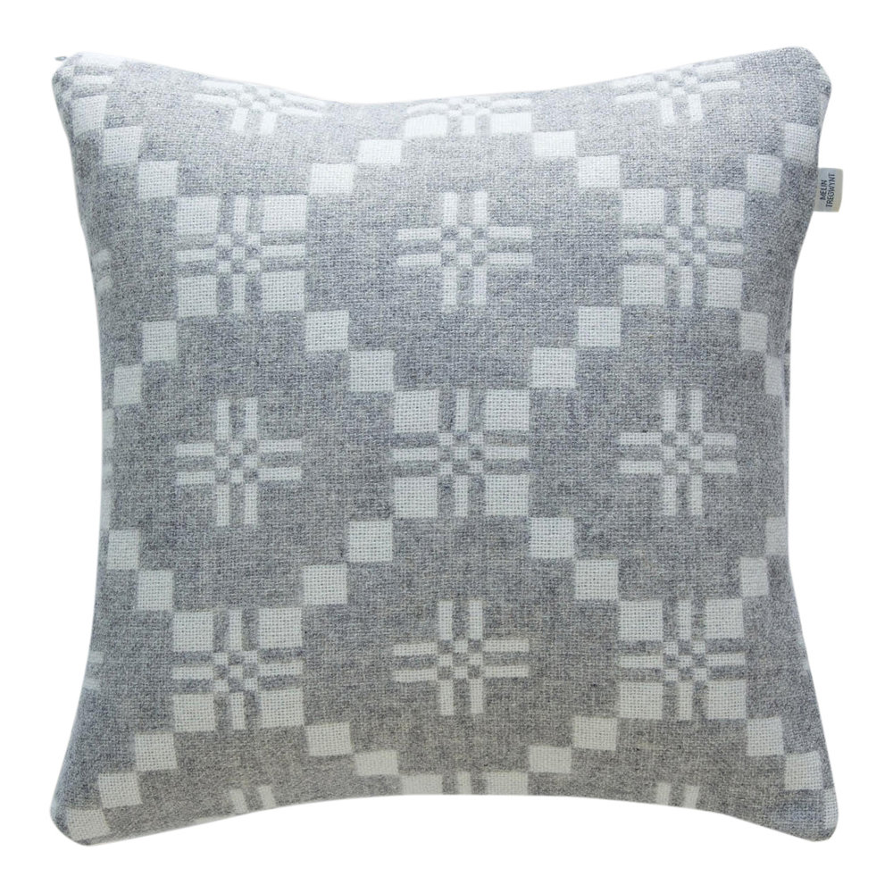 5. Melin Tregwynt Welsh Wool Cushion - What better time than Mother's Day to treat your mama to a luxury, cosy Welsh cushion!These classic Melin Tregwynt cushions come in four different colour ways, with a reversible design so you can freshen your room look in an instant.Melin Tregwynt Cushion £59