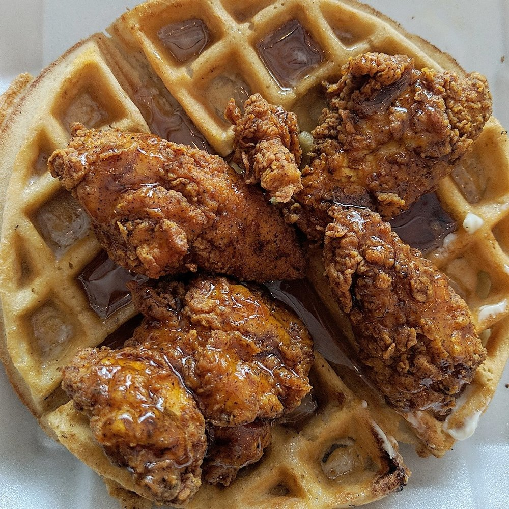Grandma G's Food for the Soul:  Chicken and Waffles
