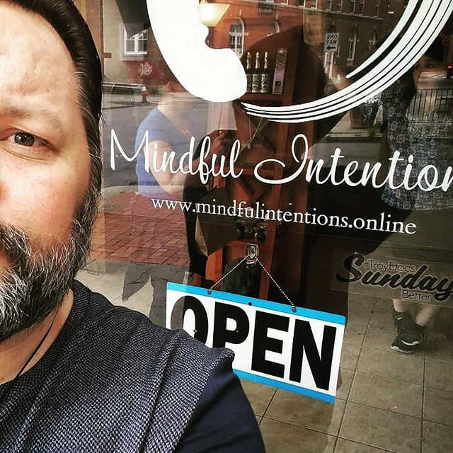 @intentionsmindful is open in Sundays! Stop by and remember to keep your receipt and being it to the Flea for $5 off! . #troydoessundaysbetter