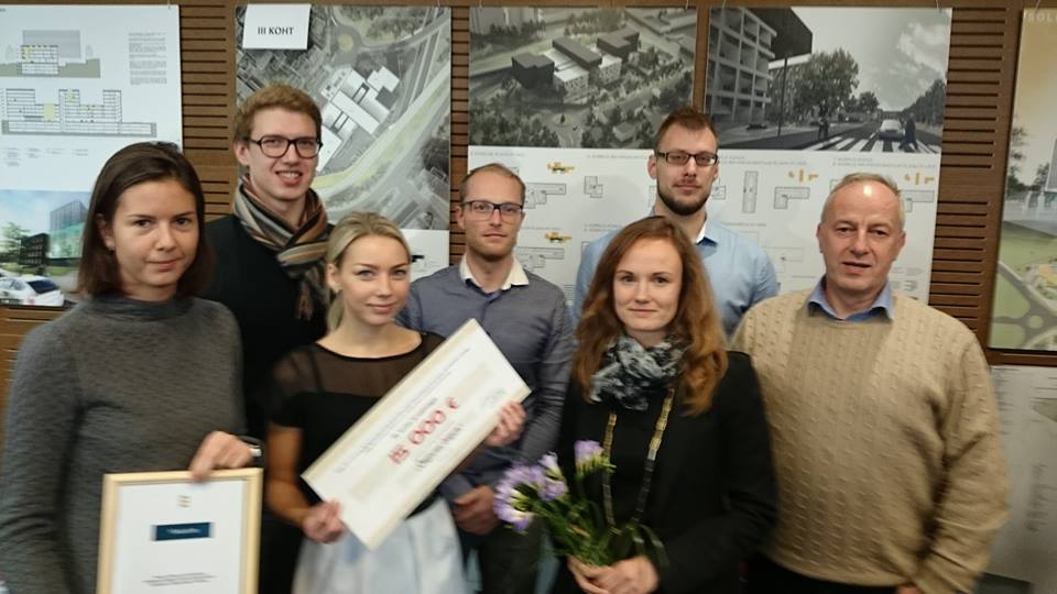 Õnnelik autorite kollektiiv:Larissa Kondina, Gert Guriev, Kaidi Põder, Ott Alver, Mari Rass, Alvin Järving, Jüri Rass