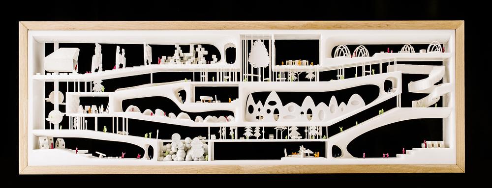 lasteaia projekt arhitektuuribüroo näitus