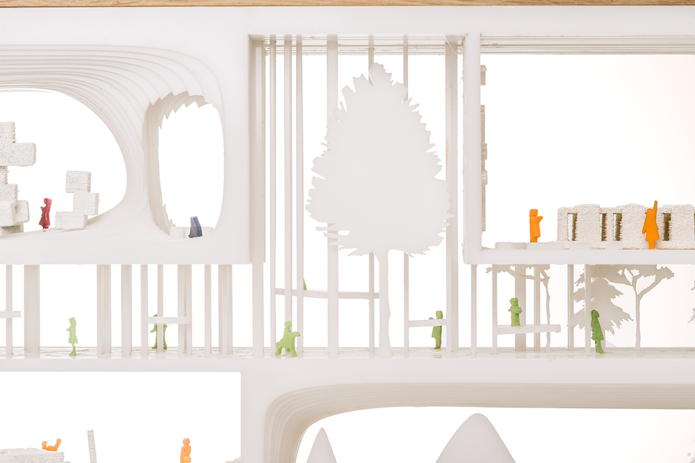 arhitekt must makett lasteaed