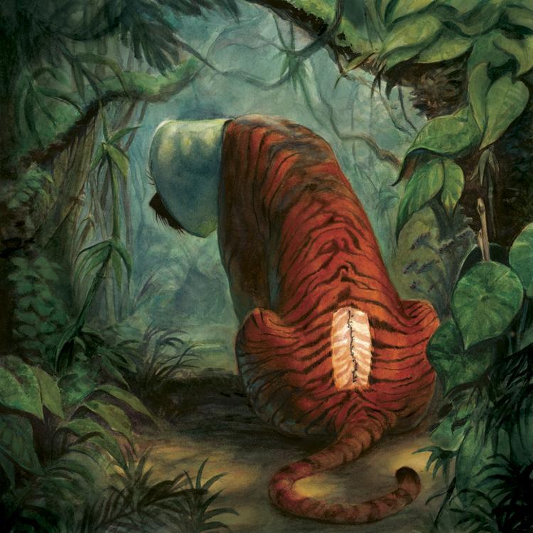 tigers have striped skin scott brundage illustration