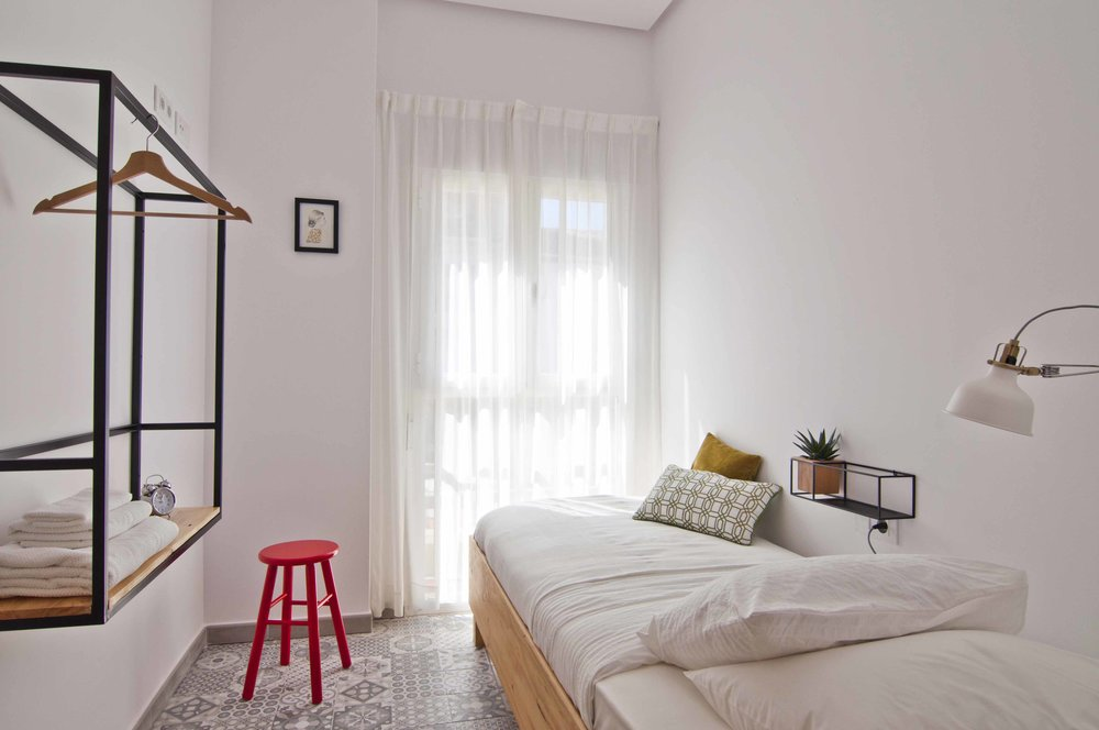 Single room at Zalamera bed and breakfast in Valencia, Spain 0323.jpg