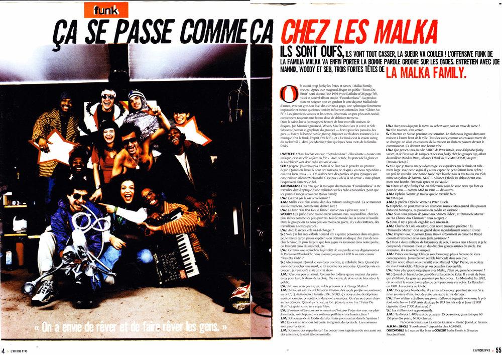L'Affiche mai 1997