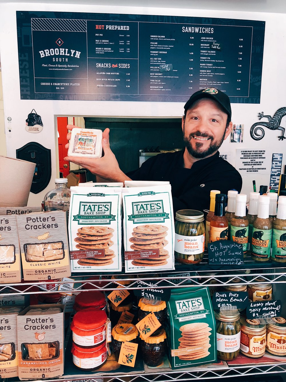 Meet Matt Bonano, deli owner and local cheesemonger! -