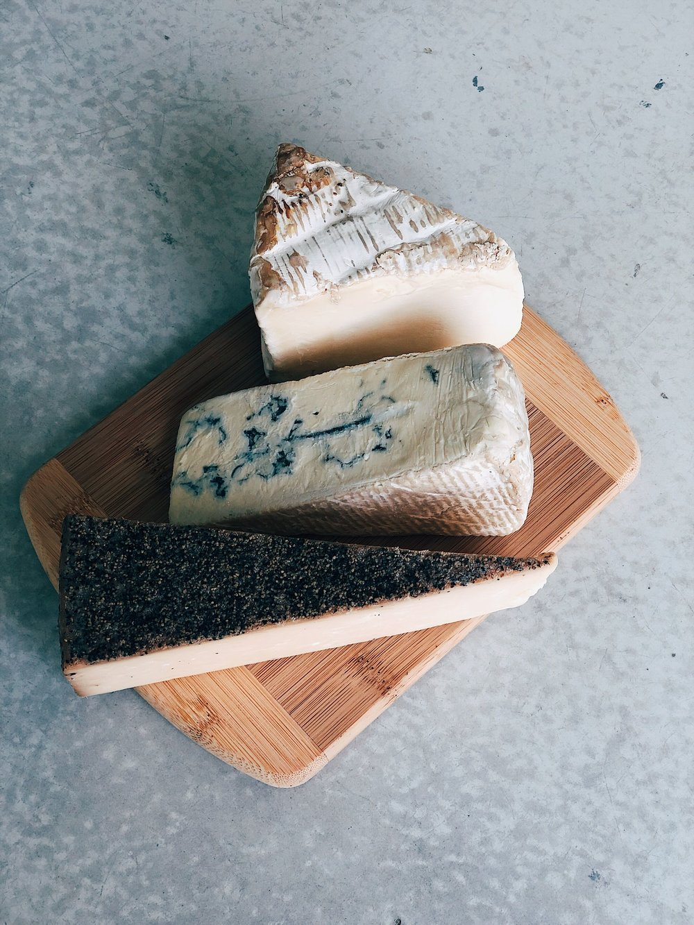 - While so many cheeses will be delicious with Berries + Thyme, we fall hard for:• Triple Cream Cheeses (like a Brie)• Stilton Cheeses (like a Blue)• Toscano Cheese (a nice hard cheese, usually a Pecorino. Ours is crusted in herbs!)