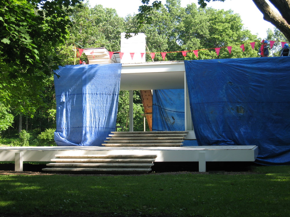 Farnsworth House - Plano, IL