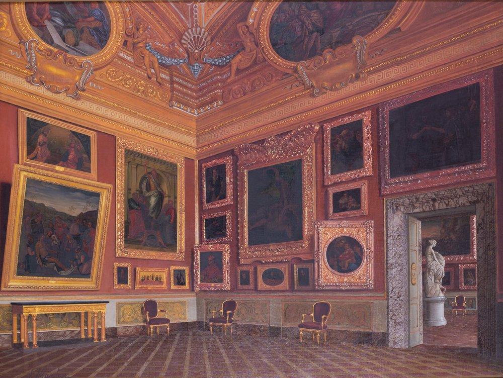 Francesco Maestosi (Italian, 1822-1883) The Sala de Saturne in the Pitti Palace, Florence Price: £15,500