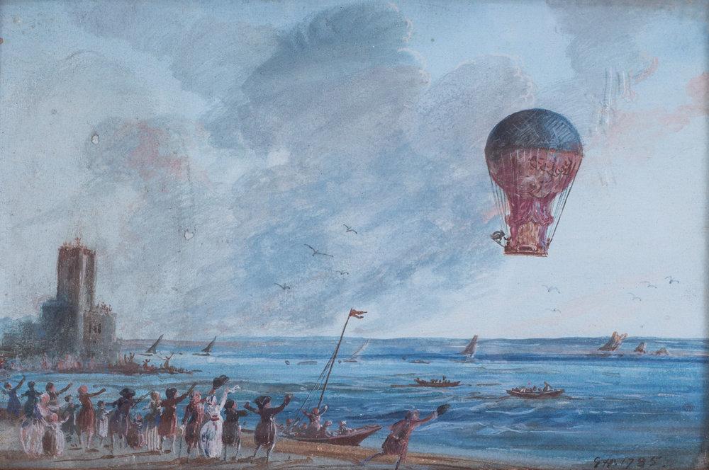 French School, circa 1785    Aero Montgolfiere    Price: £5,400