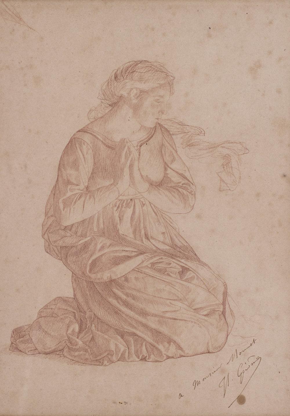 Jean-Léon Gérôme    Femme en priere    Price: £4,900