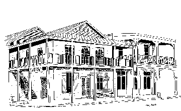 2nd Street Buildings - Cedar Key