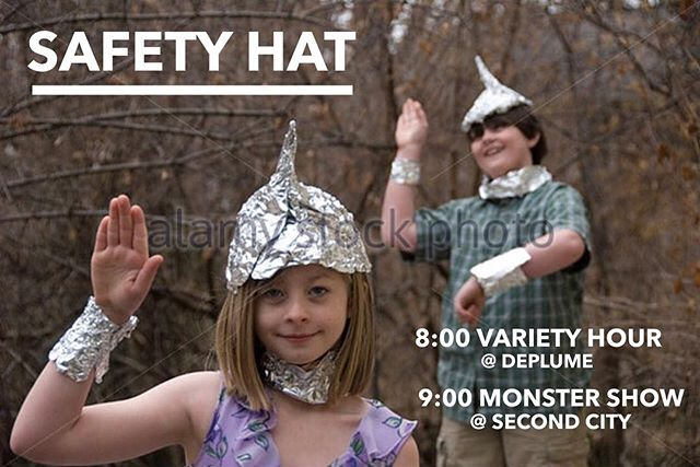 🚨🚨Red alert, LA Fam~*!🚨🚨 Indie Improv troupe, SAFETY HAT has two shows tomorrow night 🌙  8:00PM @ de Plume (5564 Hollywood Blvd) - $5 online, $10 at the door 9:00PM @ Second City in Hollywood Tix avail online & at the door!  LINX IN BIO 🐯🐯🐯