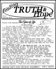 Finding Truth and Hope: Issue #2 (Spring 2015)