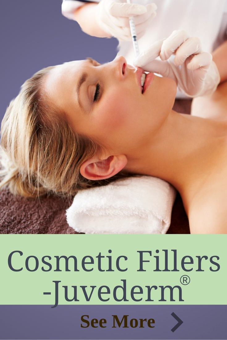 JUvederm, voluma and other cosmetic fillers replace volume loss from aging and sun damage