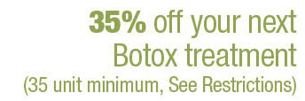 Botox as low as $7.14 a unit